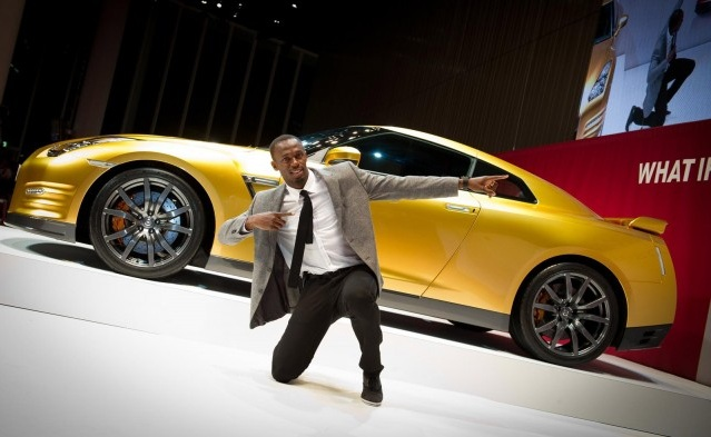 Nissan GT-R de Usain Bolt &eacute; leiloado por quase R$ 400 mil - Not&iacute;cias