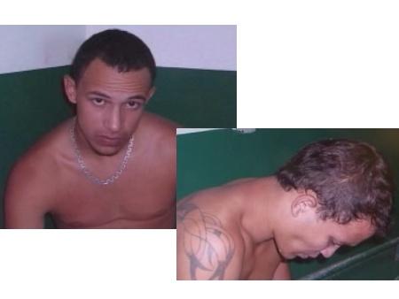 Elisson Lucas da Silva e Clayton dos Santos Aguiar têm uma longa ficha criminal
