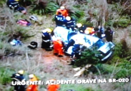 Grave acidente interdita BR-020 no sentido Planaltina para Brasília