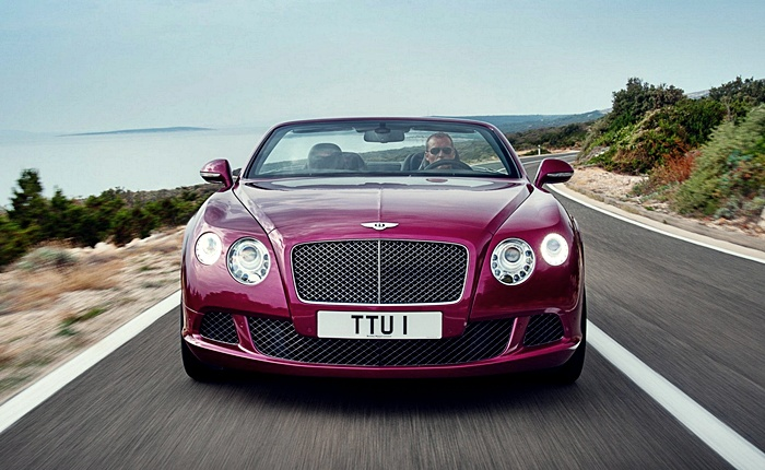 Bentley Continental Gtc O Convers 237 Vel De Quatro Lugares