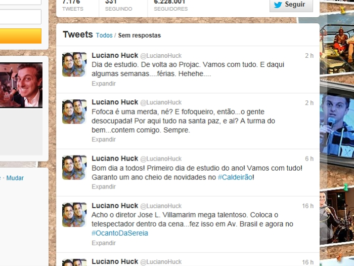 Ap&oacute;s boatos de trai&ccedil;&atilde;o, Luciano Huck desabafa: &quot;Fofoca &eacute; uma m ...