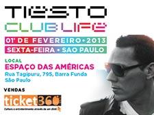 Curta o mega show do <i>DJ Tiesto</i> em São Paulo