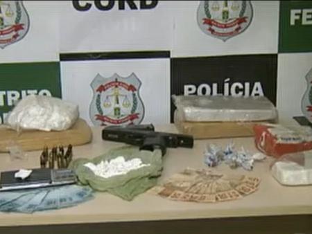 Polícia prende traficantes com cinco quilos de cocaína no DF