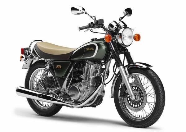 Em 1978 foi lançada no Japão a primeira Yamaha SR500, com um corte urbano, motor de único cilindro que chegou até hoje como SR400, com pouca mudança além d...