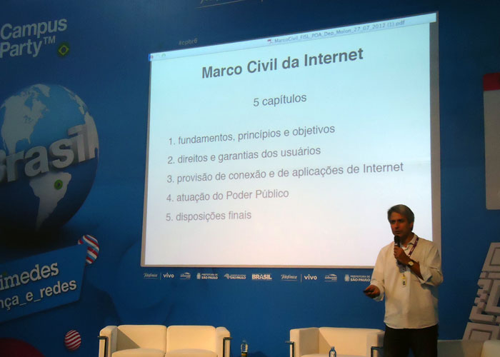 #CampusParty2013: Relator do Marco Civil pede apoio dos ...
