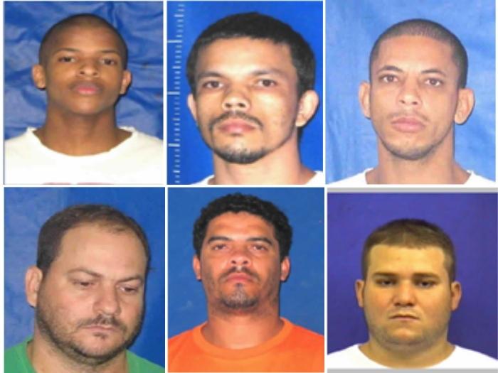 Administração Penitenciária divulga fotos de detentos que fugiram ...
