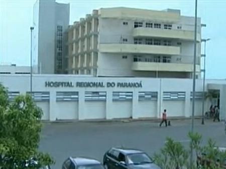 fachada hospital paranoá