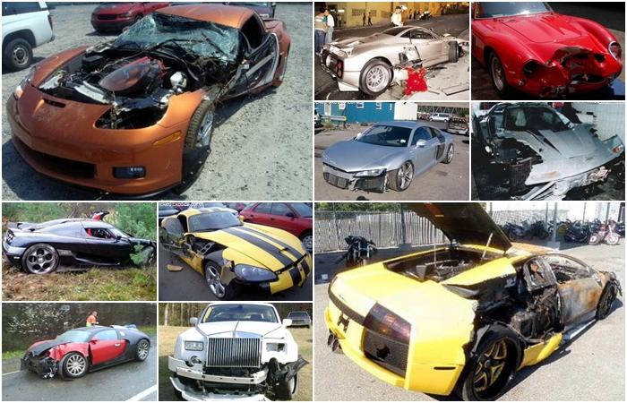 Baterum carro já é algo terrível... Agora, imagina se omodelo em questão for um superesportivo! Amantes de automóveis, prepararem seus corações: R7 Carro...