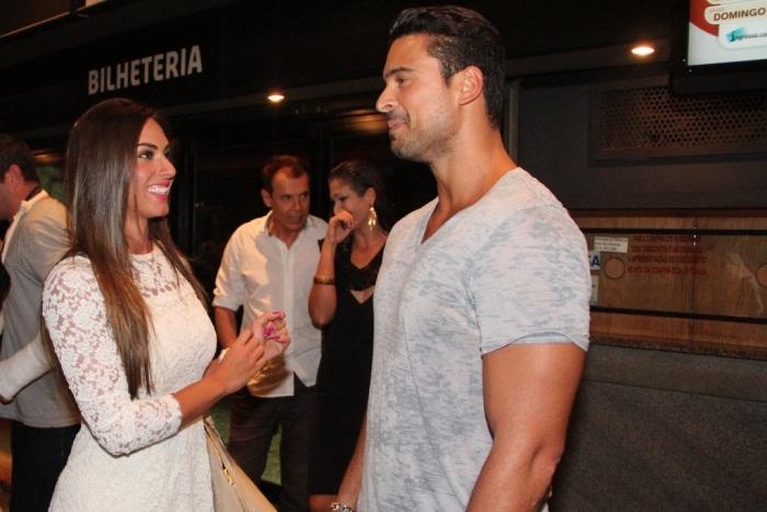 Nicole Bahls encontra ex, Gustavo Salyer, mas avisa que está com ...