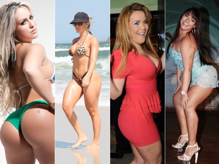 Elas poderiam ser Miss Bumbum! - Entretenimento - R7.com