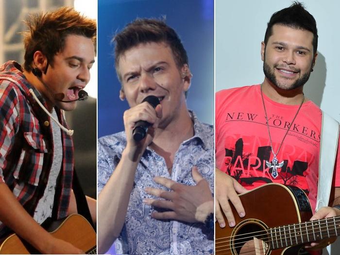 Artistas e ex-jogadores participam de futebol beneficente - Música ...