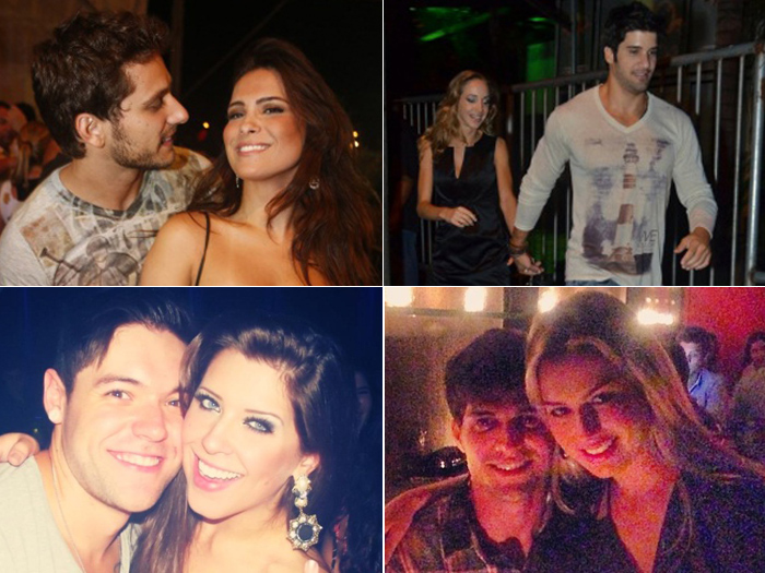 Participantes do BBB 13 encontram o amor fora do confinamento ...