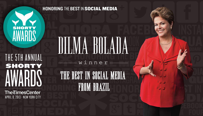 Perfil fake Dilma Bolada conquista &quot;Oscar das m&iacute;dias sociais&quot; - Foto ...