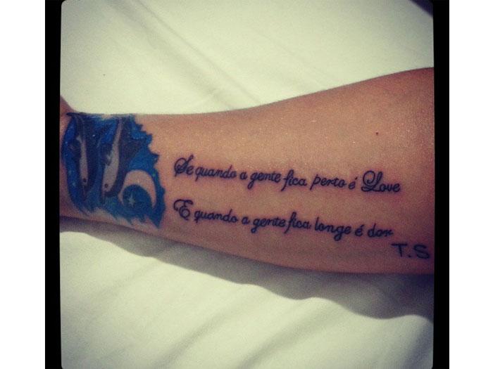 Mulher Melancia tatuagem