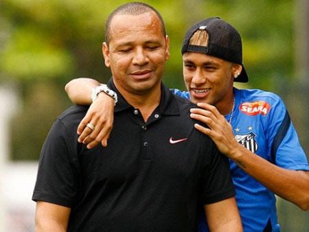 Pai de Neymar e Neymar