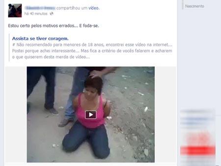 facebook, vídeo chocante, decapitação, 450