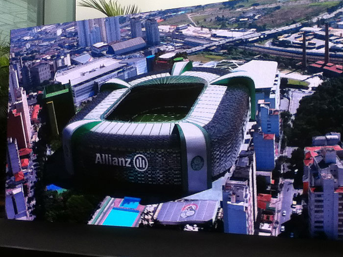 Palmeiras projeta desbancar Morumbi como principal palco de ...