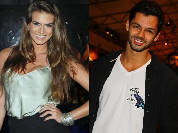 Renata Molinaro e Felipe Luhan