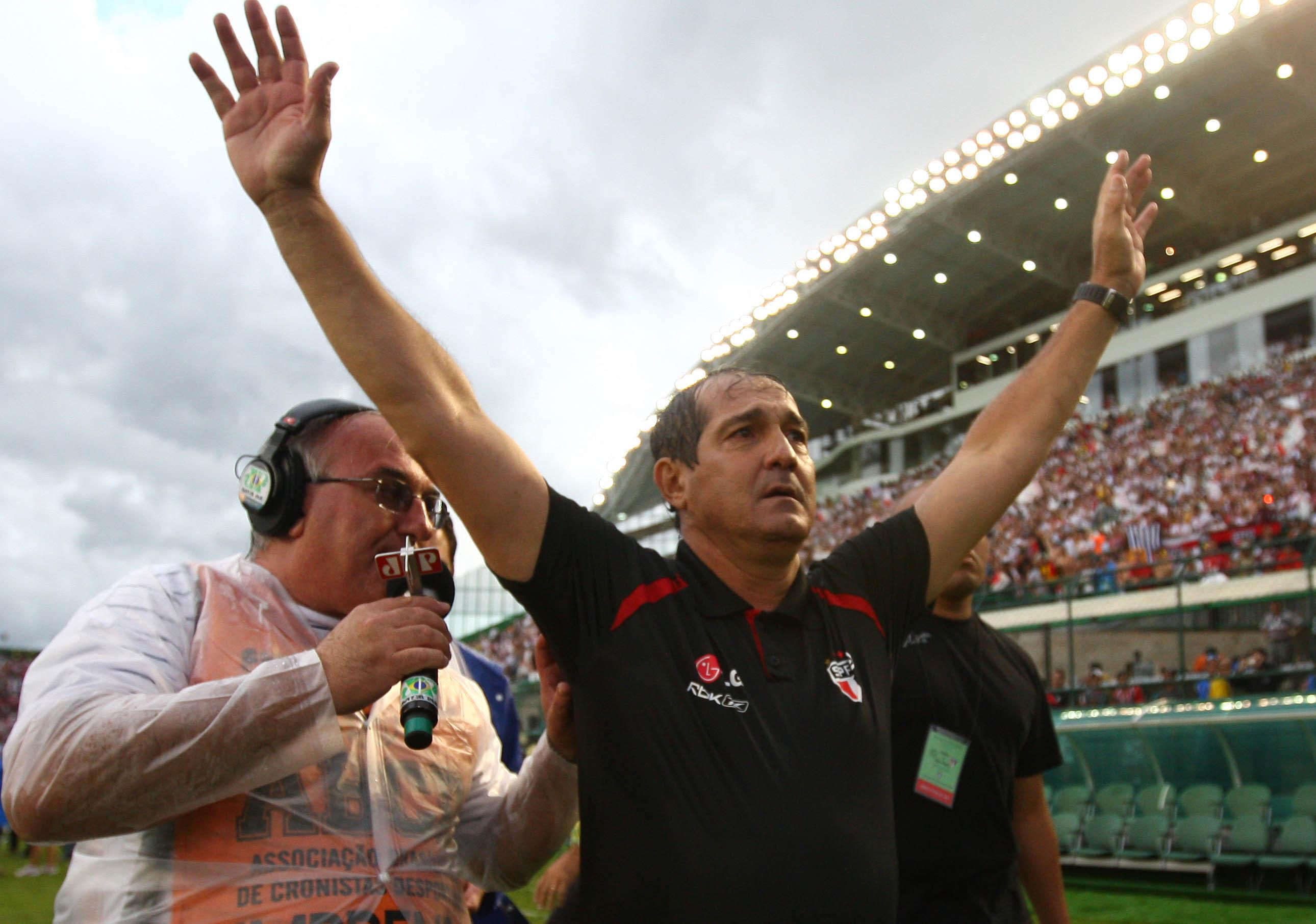 Resultado de imagem para Muricy Ramalho é tricampeão brasileiro como São Paulo