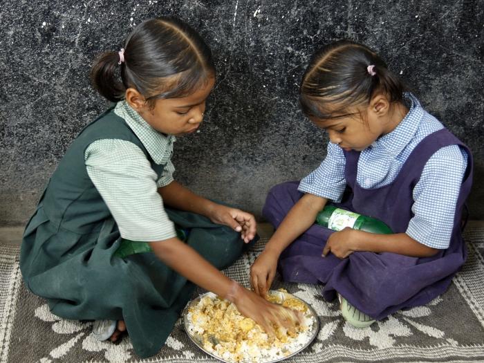 Crianças/índia