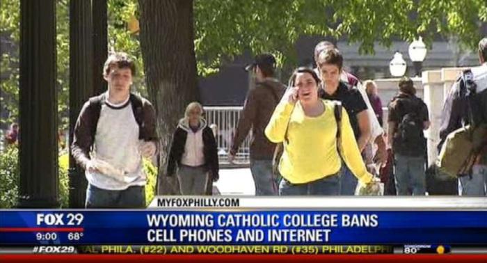 escola sem celular