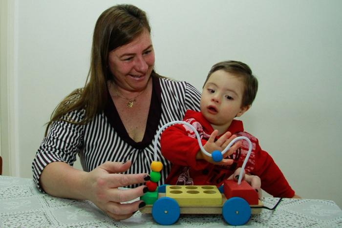 Caso criança síndrome de down