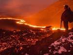 Fotógrafo blogueiro revela a beleza perigosa de vulcão ativo na Rússia