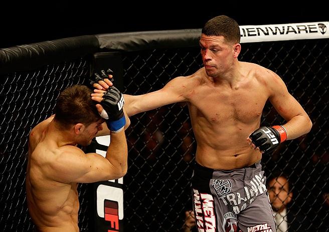 Nate Diaz diz que algoz gemia como menina em luta no UFC - Mais ...