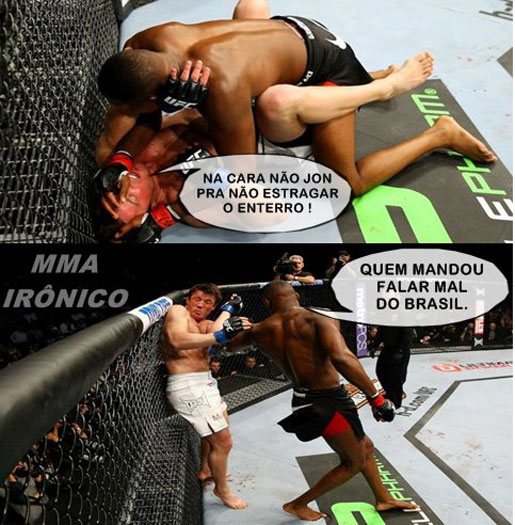 Chael Sonnen vira piada na web, de novo - Foto 1 - Mais Esportes ...