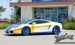 Chris Brown modifica Lamborghini de R$ 1,3 milhão para passear com Rihanna