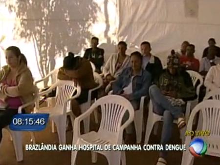 Hospital improvisado Brazlândia