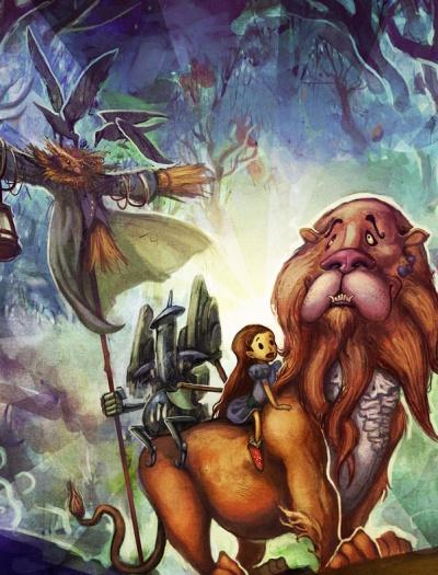 Ilustradores Criam Versao Moderna De O Magico De Oz Foto 3