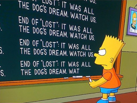 Os Simpsons faz piada sobre o final de Lost - Jovem - R7