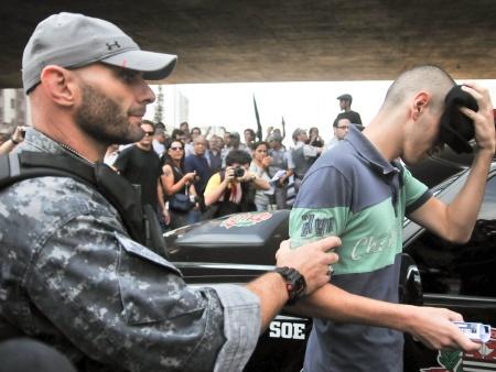 Manifestação Nazista em SP deixa 11 presos