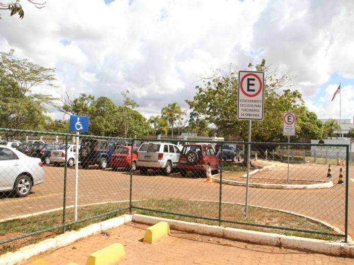 estacionamento embaixada